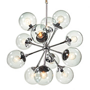 Spectacular Mid Century Sputnik Chandelier