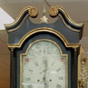19th Century English Tall Case  Floor Clock by Henry Bunyan