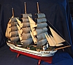 Large Beautifully Detailed Model Ship