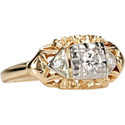 SALE Vintage Advantage in a Diamond Ring