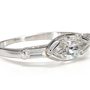 Rodins Kiss of a Diamond Ring
