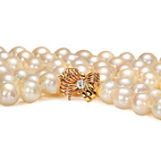 Opera Length Cultured Saltwater Pearl Necklace