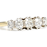 Five of a Kind: Edwardian Diamond Ring