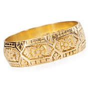 Wedding Band of Gold Dated 1899