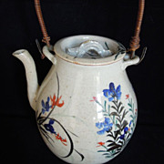 SALE A Wonderful Antique Japanese Tea Pot