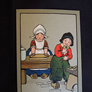 SALE Adorable Ethel Parkinson Framed Post Cards, Children