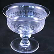 Antique English Footed Glass Comport