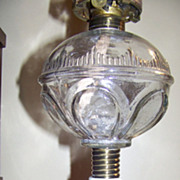 Atterbury C 1870 Prism and Loop Oil or Kerosene Lamp Excellent