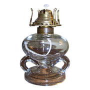 1868 Ripley's Double Handle Finger Oil Lamp