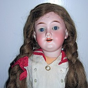 Max Handwerck Antique Doll - School Girl in Sailor Outfit