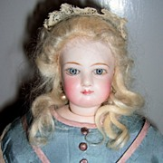 SALE Beautiful French Fashion Doll - Jumeau
