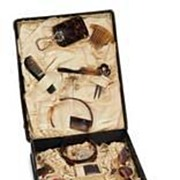 SALE AMAZING 19th Century French Fashion Doll Toilette Set in Original Box