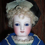 15&quot; Gliding, Waltzing, Steiner Antique Doll - All Original, including factory label.   La