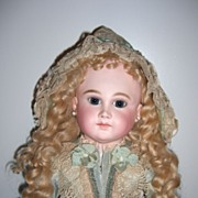 "SALE PENDING RARE 25"" French Antique Doll by Schmitt et Fils - layaway!"