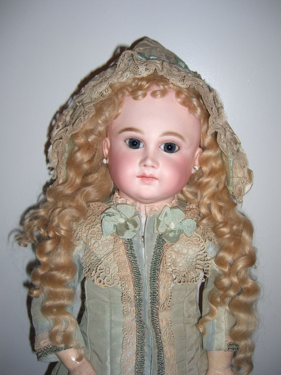 "RARE 25"" French Antique Doll by Schmitt et Fils - layaway!"