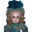 "21"" Tete Jumeau Antique Doll - Layaway!"