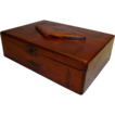 Inlaid Tea  / Cigar Box ~ Wide Awake Tea Co / Fac No. 35 1st dist of PA ~ Early 1900�s