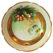 SALE Awesome Limoges Porcelain Bowl ~ Decorate with Rainier Cherries by Pickard Artist J. Heinz ~ Mavaleix Limoges France / Pickard Studio Chicago France 1895-1905