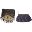 Two (2) Very Nice Beaded Purses with iridescent beads ~ Mid 1920�s