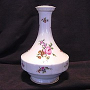 SALE Wonderful Limoges Porcelain Decanter ~ Studio Decorated with Pink Roses ~ Chantilly Patte