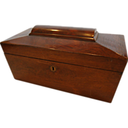 SALE Beautiful Mahogany Veneer Document / Letter Box 1800�S