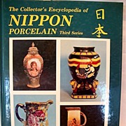 SALE The Encyclopedia of Nippon Porcelain Third Series by: Joan F. Van Patten 1986