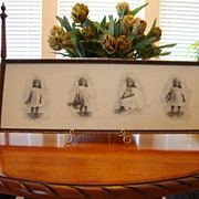 SALE Adorable Portrait of Young African American Girl in Her Sunday Best ~ Gelatin Silver Prin