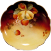 Incredible Limoges Plate Hand Painted with Ripe Strawberries by Pickard Studio Artist �Charles Hahn� ~ Limoges France 1891 Pickard Studios 1903-1905