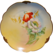 Wonderful Bavarian Porcelain Cabinet Plate ~ Hand Painted by Pickard Artist  � Florence James � with Poppies ~ Rosenthal Bavaria/ Pickard 1905-1910
