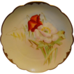 Wonderful Bavarian Porcelain Cabinet Plate ~ Hand Painted by Pickard Artist  � George Leach � with Poppies ~ Rosenthal Bavaria/ Pickard 1905-1910