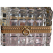 French Crystal Box / Casket - Cristal Taille Main