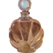 Large Perfume Bottle Factice by Raffy w/ Perfume - Gorgeous! Opalescent Glass