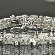 SALE 5.6 Carat Diamond Bracelet