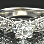 1.52 Carat Diamond Engagement Ring
