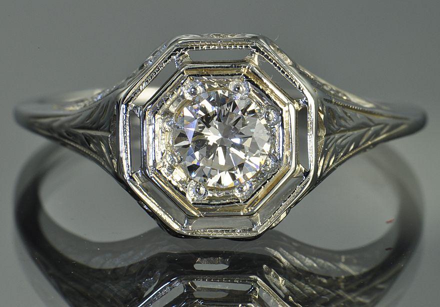 Edwardian Style Rings