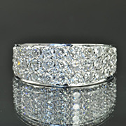 SALE 1.75 Carat Diamond Band