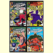 SALE Two 1984 The Amazing Spider-Man Comics, No. 248 & 249
