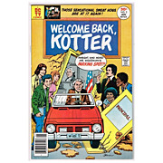 SALE 1976 Welcome Back Kotter Comic, No. 1