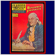 SALE 1966 Classics Illustrated Benjamin Franklin Comic, 5th Ed., No. 65
