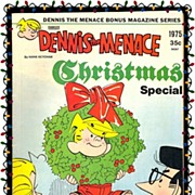 SALE 1975 Dennis The Menace Christmas Special Comic, No. 146