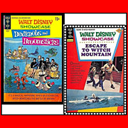 SALE Walt Disney Showcase, 1972 Bedknobs and Broomsticks Comic, No. 6, & 1975 Escape To Witch 