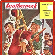 SALE December 1954 Korean War Era Marines Leatherneck Magazine
