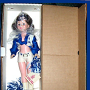 REDUCED 1982 Brunette Dallas Cowboys Cheerleader Doll by Royal House of Dolls