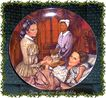 1983 Melanie Gives Birth~~Edwin M. Knowles Collectors Plate