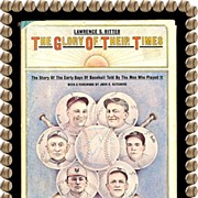 REDUCED 1966 The Glory of Their Times Baseball Book by Lawrence S. Ritter