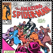 SALE 1984 The Amazing Spider-Man Comic, No. 253