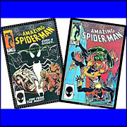 SALE Two 1984 The Amazing Spider-Man Comics, Nos. 255 & 257