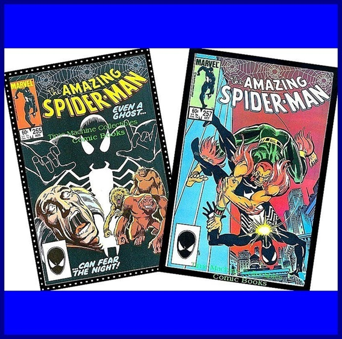 Two 1984 The Amazing Spider-Man Comics, Nos. 255 & 257