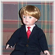 REDUCED Michael�s First X�mas Doll, Dynasty Doll Collection Doll No. D738