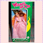 REDUCED 1974 Wizard of Oz Glinda The Good Witch Doll in Original Box by Mego